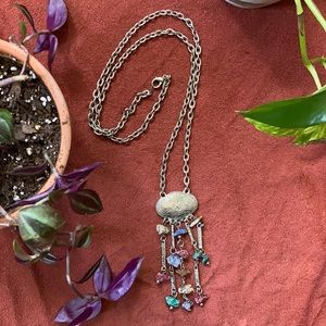Magical long Vintage Gypsy Necklace :